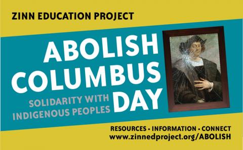 Abolish Columbus Day